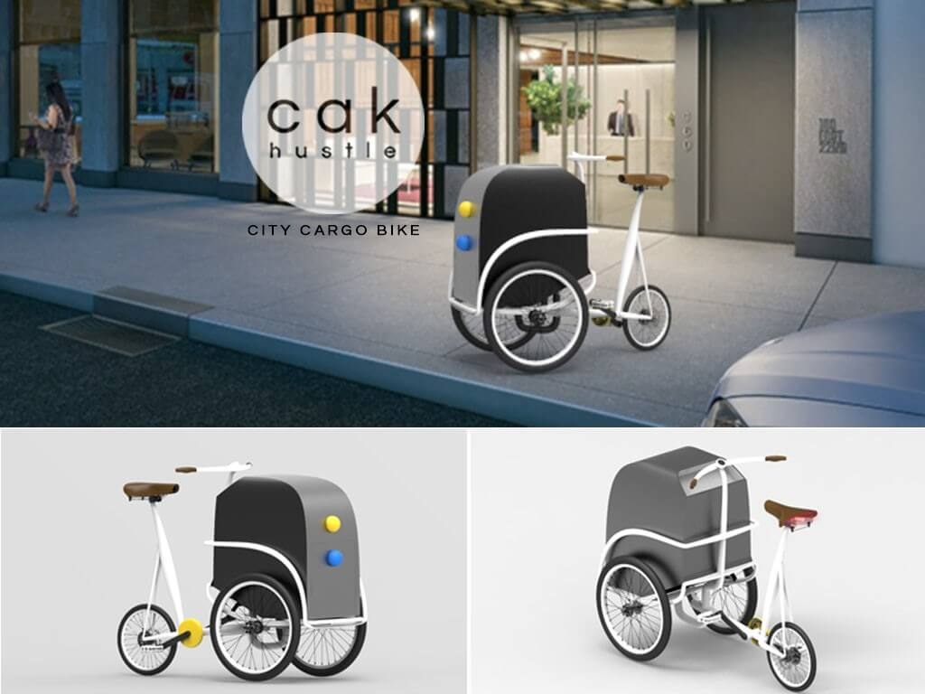 Cak Hustle (City Cargo Bike)