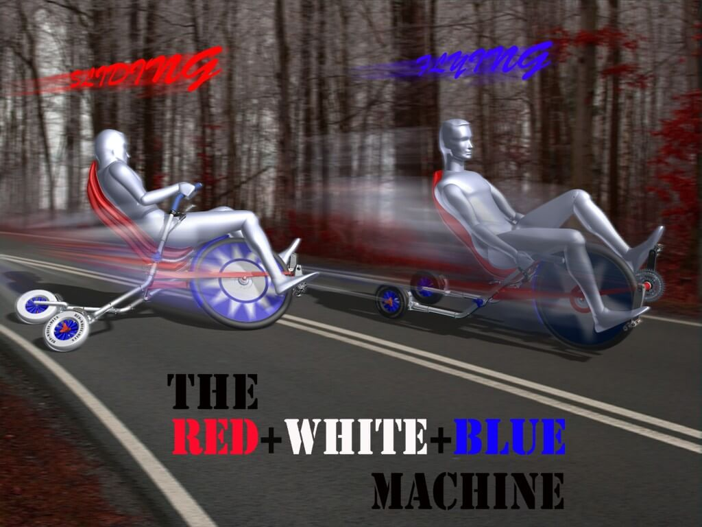The Red+White+Blue Machine