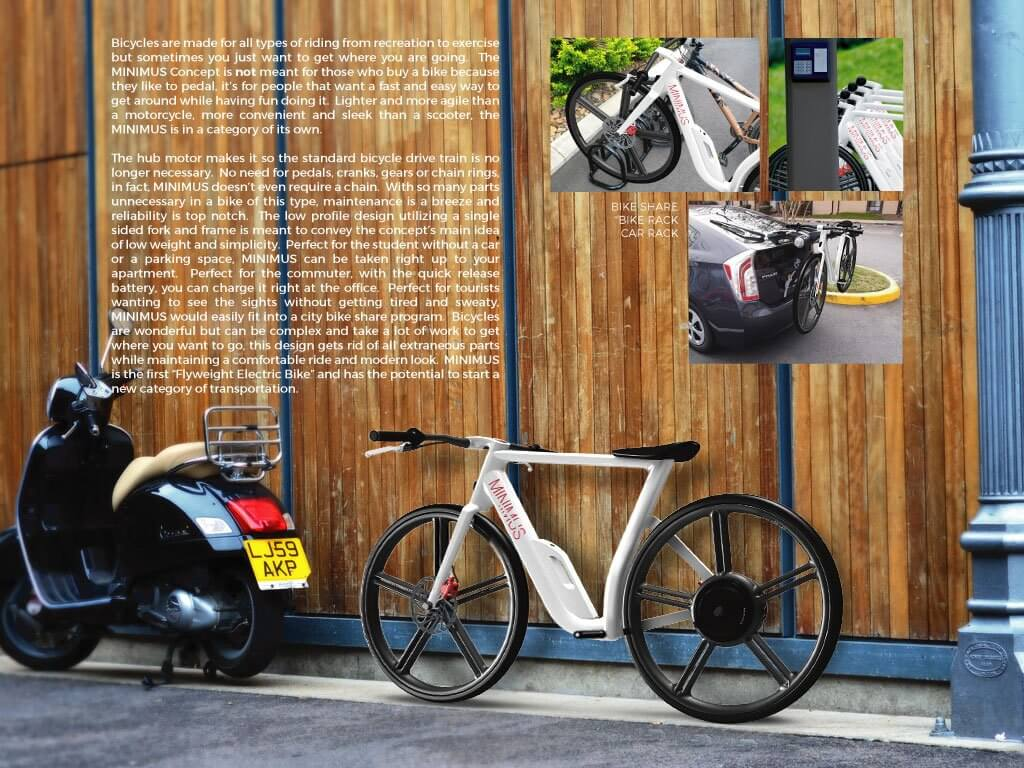 Minimus – flyweight electric bike