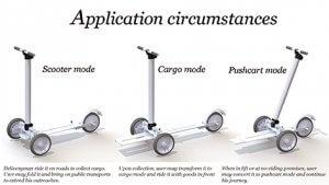 Cargo E-scooter-d