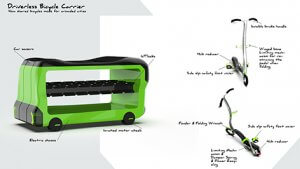 Driverless Bicycle Carrier-4